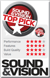 Link to Projection Screen Review at Sound & Vision magazine